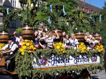 Oktoberfest Opening Parade, Munich, Germany from Wikimedia Commons